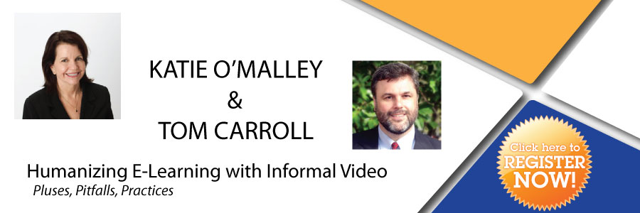 Katie OMalley and Tom Carroll - Informal Video: Pluses, Pitfalls, and Practices