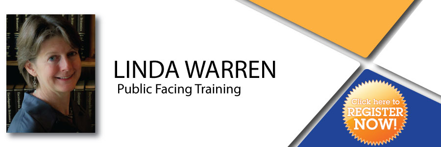 Linda Warren - Public Facing Training