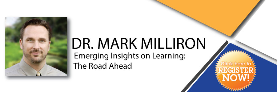 Dr. Mark David Milliron - Emerging Insights on Learning: The Road Ahead